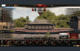 World of Tanks Аккаунт с 10 лвл и привязками №066