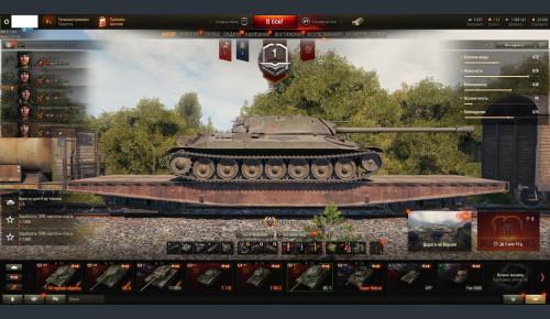 World of Tanks с 10 лвл и привязками №066