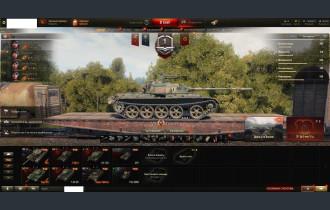 World of Tanks Аккаунт с премами и привязками №34
